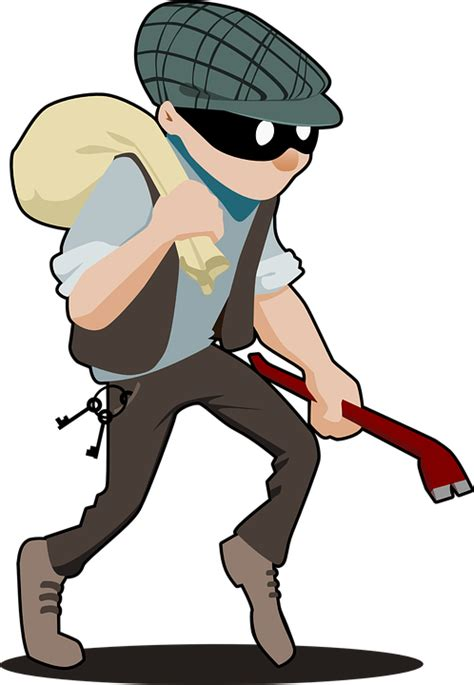 How To Look Up Someone With A Criminal Record Free Vector Graphic Burglar Crime Criminal Theft Free Image On Pixabay 157142