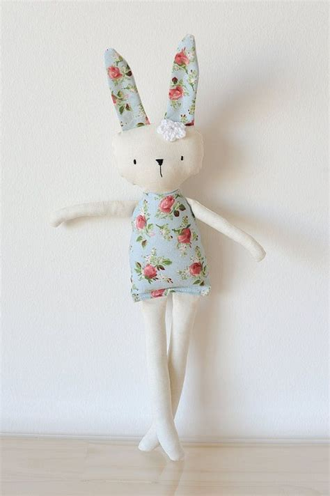 Handmade Rabbit - best 25 handmade rag dolls ideas on rag dolls