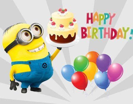 imagenes happy birthday minions happy birthday minions gif images meme pictures bday
