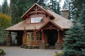House Plans Narrow Lot lot handcrafted dovetail log home caribou creek timber