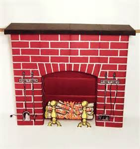 omg yes a fireplace made of corrugated cardboard