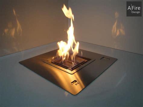 feuerstelle quadratisch quadratische runde ethanol brenner afire design feuerstelle