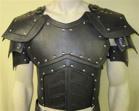 Handmade Armor - leather armor juggernaut chest back and shoulders