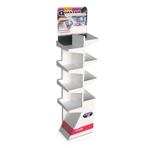 Cardboard Shelf Display Boxes by Custom Cardboard Displays Corrugated Cardboard Display
