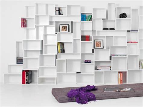 modern wall shelving units