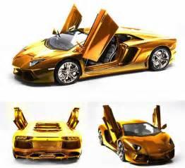 How Much Does A Lamborghini Cost In Dubai World S Most Expensive Car Dh27m Gold Lamborghini On Sale