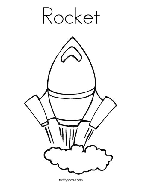 coloring page rocket ship rocket coloring page twisty noodle