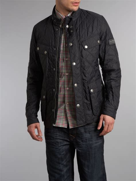 Barbour Black Quilted Jacket by Barbour Ariel Quilted Jacket In Black For Lyst