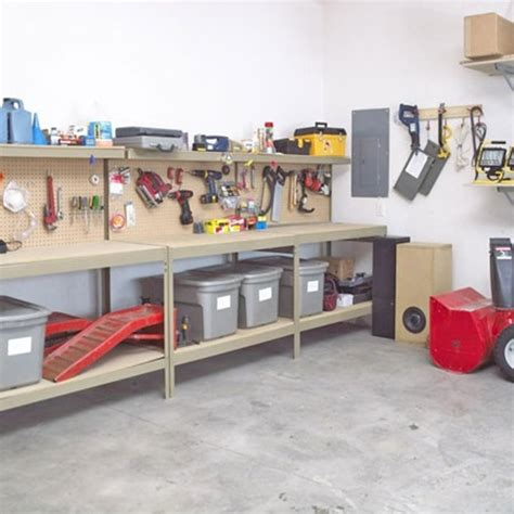 Garage Storage Ideas 25 Exle Of Garage Designs