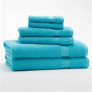 turquoise towels decor by color