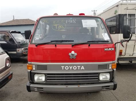 toyota hiace truck toyota hiace engine truck 1991 4x4 diesel only 5000ml