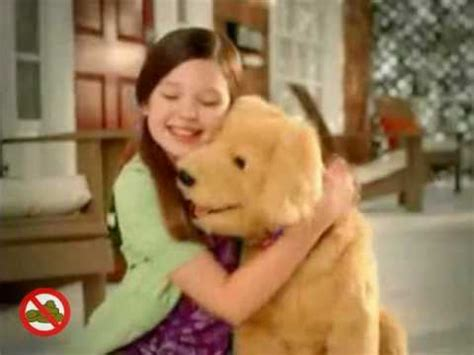 golden retriever commercial furreal friends biscuit lovin pup commercial