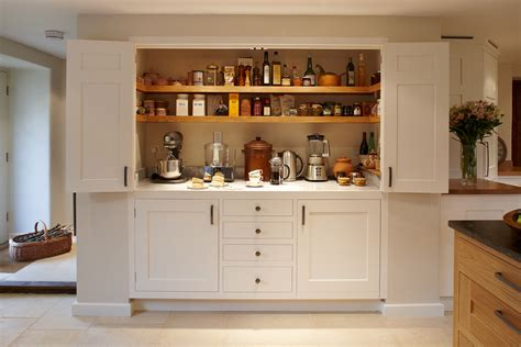 Handmade Kitchens Surrey - magnificent larder surrey bespoke luxury