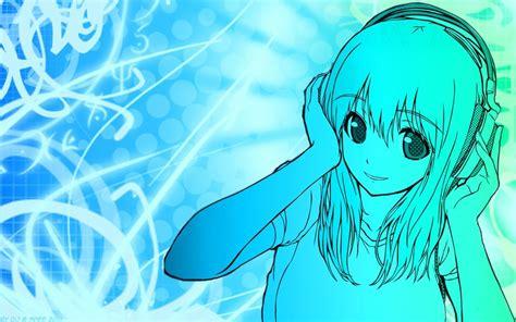 anime girl dj wallpaper dj anime music publish with glogster