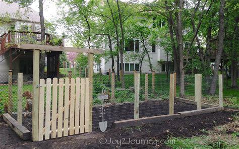 backyard gate a garden gate in 5 easy steps joy 2 journey