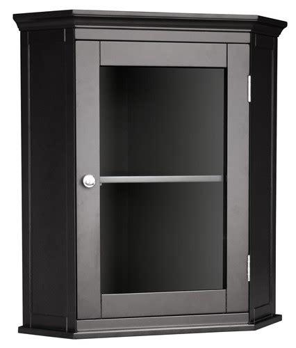 madison ave bathroom corner wall cabinet espresso ebay