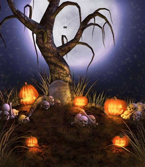 imagenes de halloween en español 高清万圣节卡通恐怖图片下载