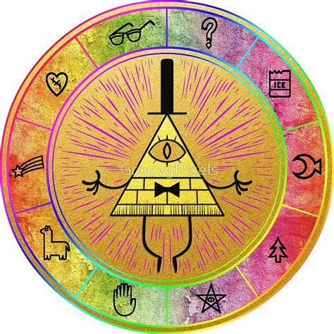 gravity falls bill cipher wheel photo collection gravity falls bill cipher wheel