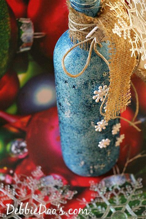 wine bottle crafts for recycled wine bottle craft idea debbiedoos