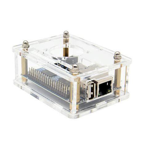 Termurah Orange Pi One Development Board Casing Box Ah12 3 in 1 orange pi one 512mb h3 development board acrylic cooling fan heat sink