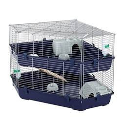 Single Rabbit Hutches Massive Indoor Double Corner Cage Rabbit Amp Guinea Pig By
