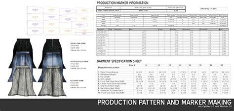 pattern grading costs portfolio on behance