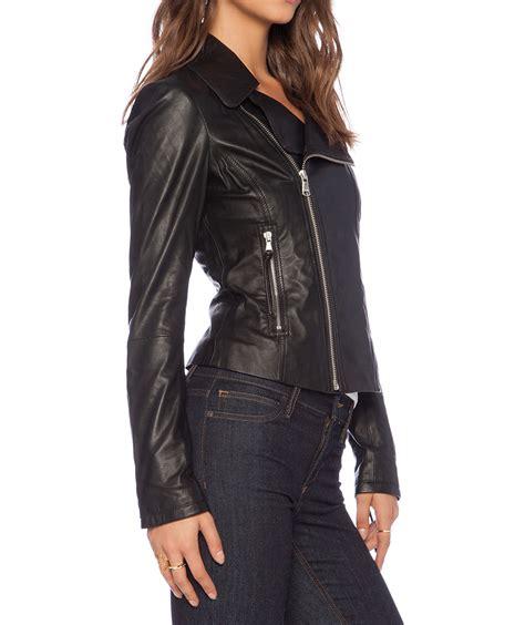 bike jackets for women black leather jacket women buzy leather biker jacket in