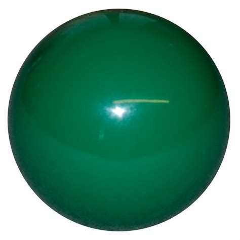 stock solid green shift knob