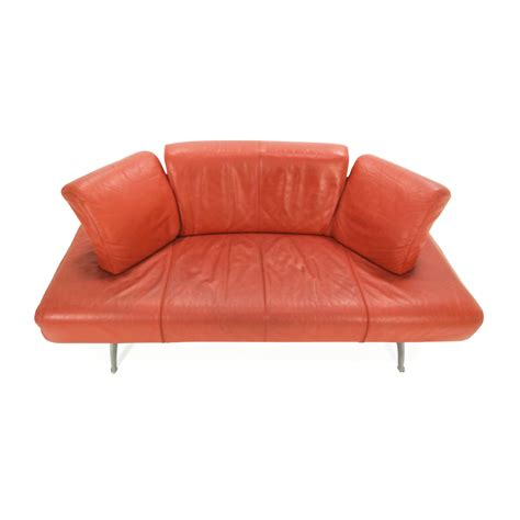 used red leather sofa 82 off team by wellis team by wellis red leather sofa