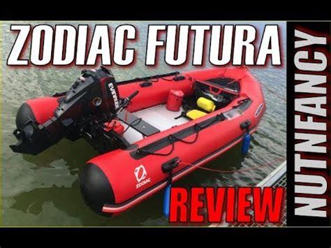 zodiac inflatable boats reviews zodiac futura inflatable boats review pt 1 youtube