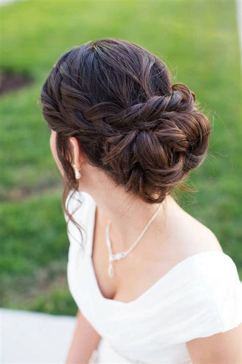 20 beautiful braided updos for brides mon cheri bridals