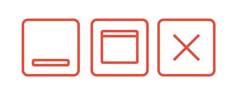 close window close window icon free download png and vector