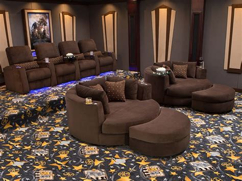 cuddle couch home theater seating seatcraft swivel cuddle couch cuddle seat 4seating