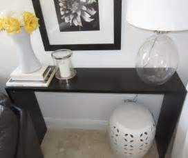 Behind Sofa Console Table Sleek Console Table Ikea Hackers Ikea Hackers