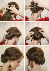 how to do easy hairstyles for step by step 11 easy hairstyles step by step hairstyles for all