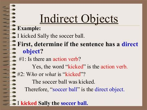 sentence pattern direct object direct and indirect object english is fun