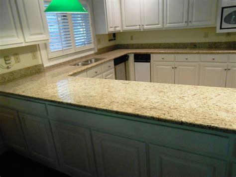 1 Granite Countertops by Giallo Ornamental Granite Exceptional For White Cabinets