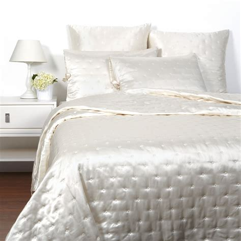 luxe bedding hudson park luxe silk bedding bloomingdale s