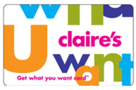 Claire S Gift Card Balance - claire s gift cards fashion gift vouchers voucher express