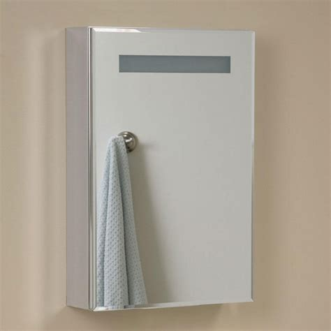 Lighted Bathroom Medicine Cabinets Brilliant Aluminum Medicine Cabinet With Lighted Mirror Medicine Cabinets Bathroom