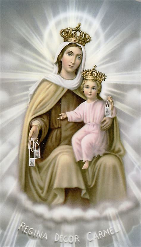 Marvelous Holy Infant Church #9: Our-lady-of-mt.-carmel-prayer-card16078xl.png