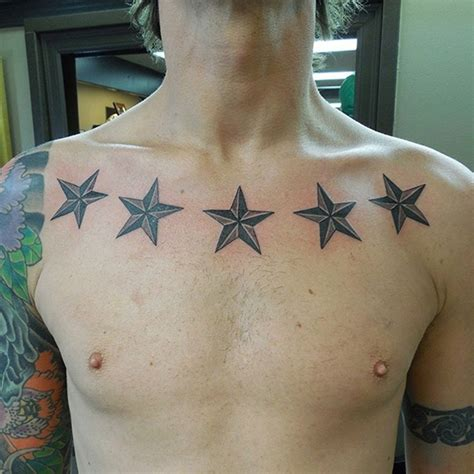 collar bone tattoo for men 27 exles of collar bone tattoos for guys