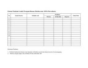 contoh layout mading format penilaian lomba peragaan busana muslim antar sd se