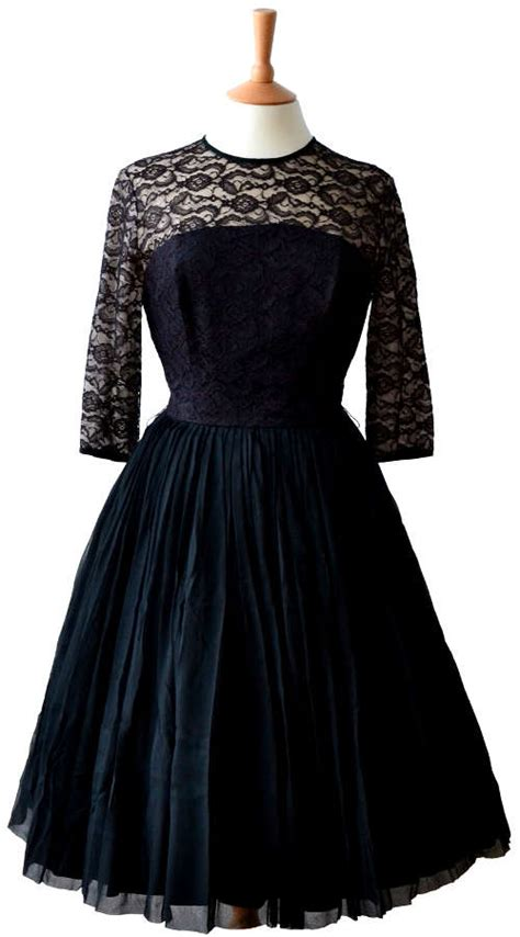 black dinner retro black dinner dress fashion show on
