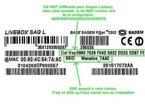 code wap pour wifi live box inventel sur imac forums