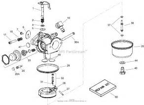 toro 20072 22in recycler lawn mower 2007 sn 270000001 270999999 parts diagram for carburetor