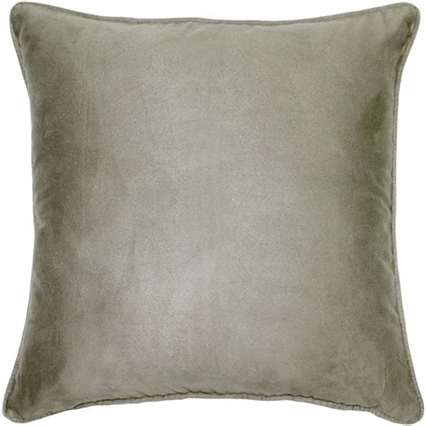 Microsuede Throw Pillows by Sedona Microsuede Gray Throw Pillow 22x22 From Pillow