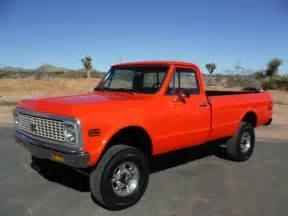 1971 chevy k20 4x4 california truck 350 new paint