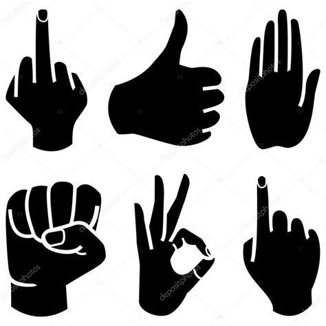 imagenes de simbolos satanicos con las manos humanos colecci 243 n mano se 241 ales de manos diferentes gestos