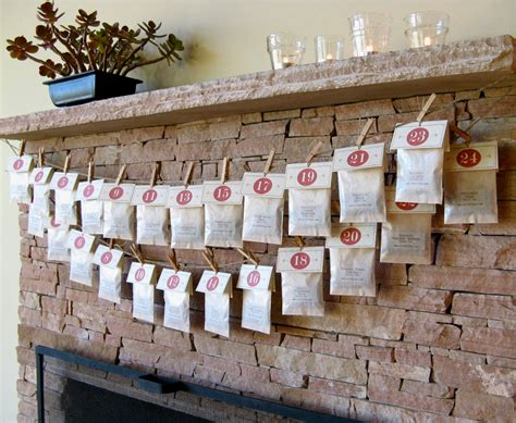 Handmade Advent Calendar Ideas - 20 enchanting handmade advent calendar ideas